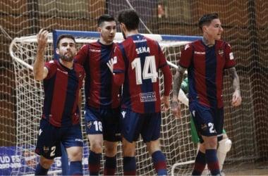 "Levante UD FS salva el primer ""match ball"" para estar en Madrid"