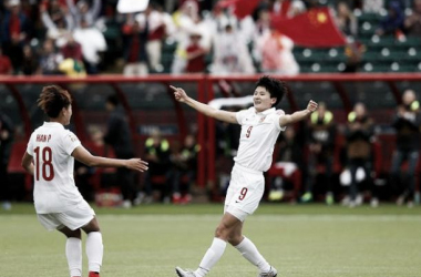 China 1-0 Cameroon: Wang Shanshan's early goal is enough for China to reach the last eight