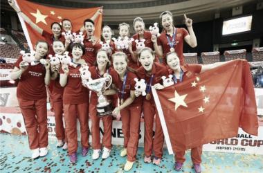 Rumo à Olimpíada: seleção feminina de Vôlei da China