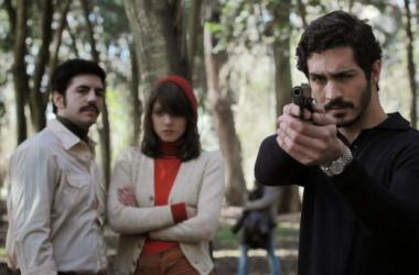 Imagen de CineWorld: Chino Darín (Miguel), atrás Marco Antonio Caponi (Pacho) y Carla Quevedo (Diana)