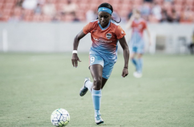 Chioma Ubogagu has been traded to the Orlando Pride after one season with the Houston Dash. (Source: Trask Smith)