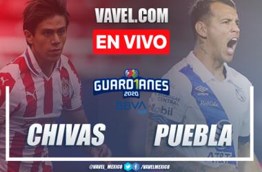 Goles y Resumen: Chivas 0-1 Puebla en Liga MX