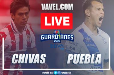 Goals and Highlights: Chivas 0-1 Puebla in 2020 Liga MX