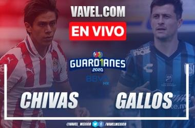 Goles y Resumen del Chivas 1-1 Querétaro en la jornada 9 del Guard1anes 2020