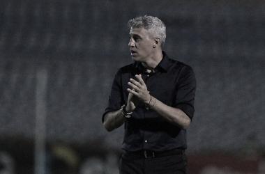 Hernán Crespo em 4 de Julho 3 a 2 São Paulo (Rubens Chiri / São Paulo FC / Divulgação)