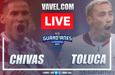Goals and Highlights: Chivas 1-1 Toluca, 2021 Liga MX