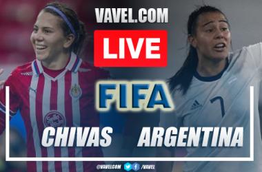 Chivas Femenil vs Argentina Femenil: LIVE Score Updates in Friendly Match (0-0)