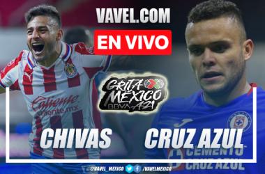 Goles y resumen del Chivas 1-1 Cruz Azul en Liga MX 2021