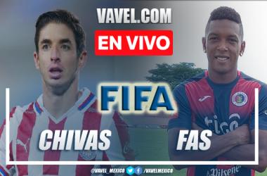 Goles y Resumen del Chivas 0-0 FAS Partido Amistoso 2021