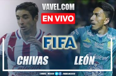 Goles y resumen del Chivas 4-1 León en juego amistoso 2021