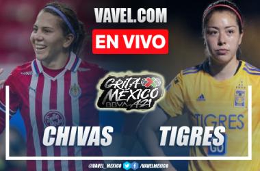 Goles y Resumen del Chivas Femenil 1-1 Tigres Femenil en Liga MX Femenil 2021