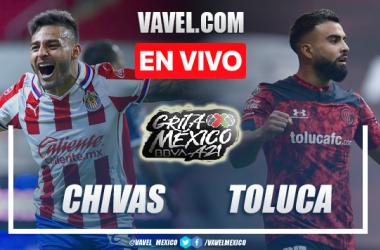 Goles y Resumen del Chivas 2-0 Toluca en la Liga MX Apertura 2021