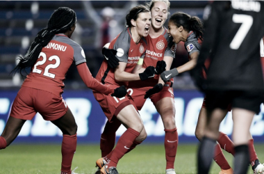 The Portland Thorns beat Chicago 3-2 in their last meeting on March 31. | Photo: isiphotos.com