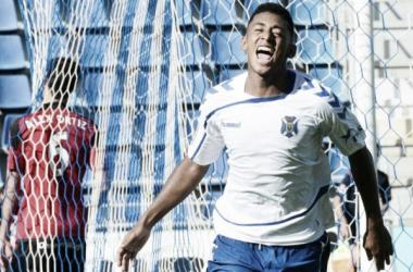 Choco Lozano con el Tenerife. Foto: Tenerife CF