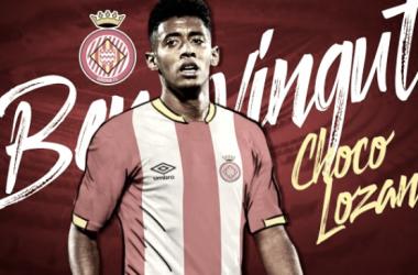Anthony ''Choco'' Lozano, primer refuerzo invernal del Girona FC