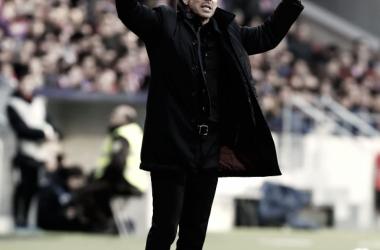 """Simeone: """"Fue una respuesta muy buena del equipo"""""""