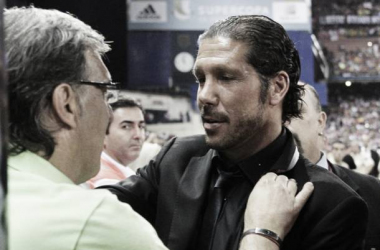 Bancos argentinos. Simeone le da la bienvenida a Martino   récord.com.mx