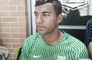 El lateral izquierdo de a poco va retomando el nivel que se le conoció con Atlético Bucaramanga.Foto: Juan Camilo Álvarez Serrano