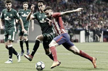 Saúl Ñíguez fue el comodín táctico del Cholo    FOTO: Club Atlético de Madrid.