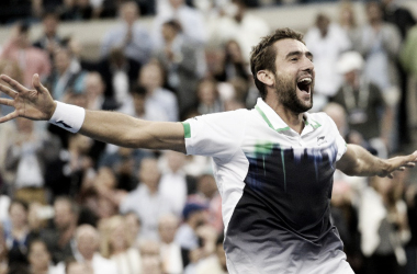 Imágen de Marin Cilic tras haber conquistado el US Open en 2014. Foto: For The Win