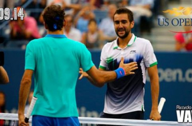 Cilic - Federer: la valentía por bandera