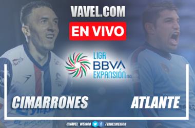 Resumen y mejores momentos del Cimarrones 2-0 Atlante en Liga de Expansión MX