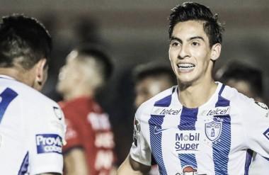 Aguirre y Cano fabricaron el único gol del partido | Foto: Copa MX