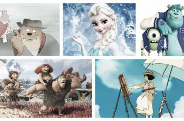 Cinco ejemplos de la mejor animación del año (Montaje: Fex Maldonado).