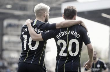 Com início arrasador, Manchester city vence Fulham e reassume ponta do Inglês provisoriamente