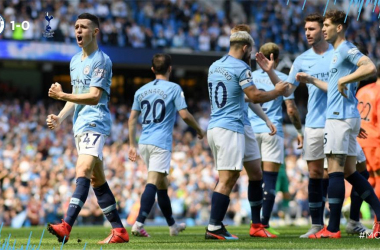 Premier League- Al City basta Foden, Tottenham battuto di misura all'Etihad