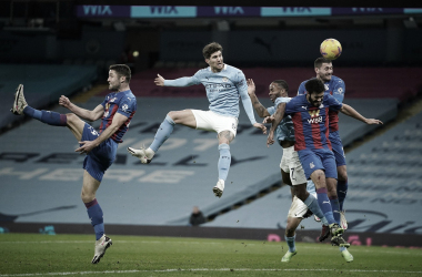 Un gran comienzo para John Stones que marcó 3 goles en el 2021. Foto: Premier League