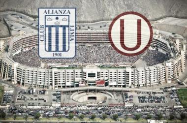 Clásico del Fútbol Peruano se jugaría en el Estadio Monumental. (FOTOMONTAJE: Luis Burranca - VAVEL)