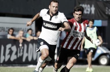 """Rodrigo el """"Chapu"""" Braña es baja en el clásico platense por una lesión. Fuente: Infobae."""