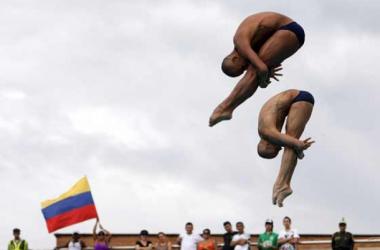 En clavados, Colombia figuró en el Mundial de Natación