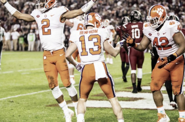 The Clemson Tigers are in prime position after taking the top spot in the latest college football rankings/Photo: The Clemson Insider