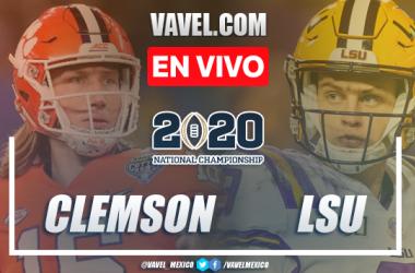 Resumen y Touchdowns: Clemson Tigers 25-42 en Campeonato Final NCAA 2020