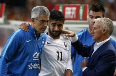 Fekir crack, rottura dei legamenti contro il Portogallo: stagione finita!