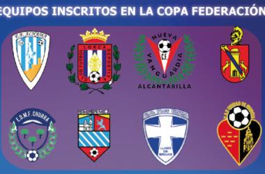 Ocho equipos murcianos competirán en la Copa Federación