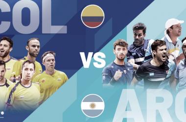 Historiales de los enfrentamientos entre colombianos y argentinos por Copa Davis