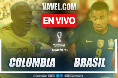 Resumen: Colombia 0-0 Brasil en eliminatorias a Catar 2022