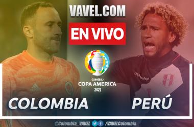 Resumen: Colombia 1-2 Perú en Copa América 2021