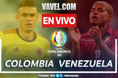 Resumen: Colombia 0-0 Venezuela en Copa América 2021