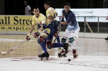 """Sebastián Canizales, arquero Selección Colombia de hockey sobre patines: """"Ellos aprovecharon nuestros errores"""""""