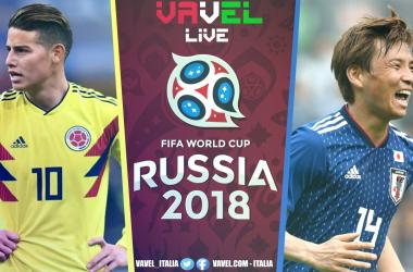 Colombia-Giappone in diretta, LIVE Mondiali Russia 2018: vince il Giappone! Mondiale subito in salita per la Colombia