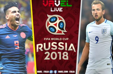 Russia 2018 LIVE, Colombia-Inghilterra in diretta (1-1); Dier ai rigori regala i quarti all'Inghilterra! (3-4 DCR)
