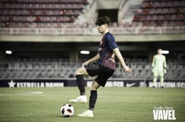Imagen de Álex Collado, jugador del Barça B. FOTO: Noelia Déniz