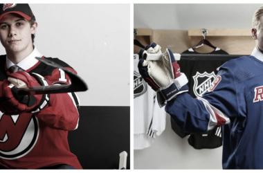 Hughes y Kakko buscan fortalecer a sus equipos, ademas de alterar a la Division Metropolitana - NHL.com