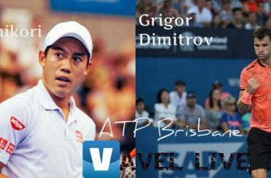 Risultato Nishikori - Dimitrov in ATP 250 Brisbane -Trionfa Dimitrov!(1-2)