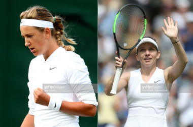 Azarenka and Halep will meet for a fifth time (Getty Images/Alex Pantling and Rob Newell/Camera Sport)