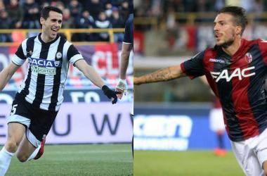 Kevin Lasagna (25) e Simone Verdi (25), i cannonieri delle due squadre